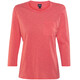 Patagonia Mainstay 3/4-Sleeved Top Women Carve Coral